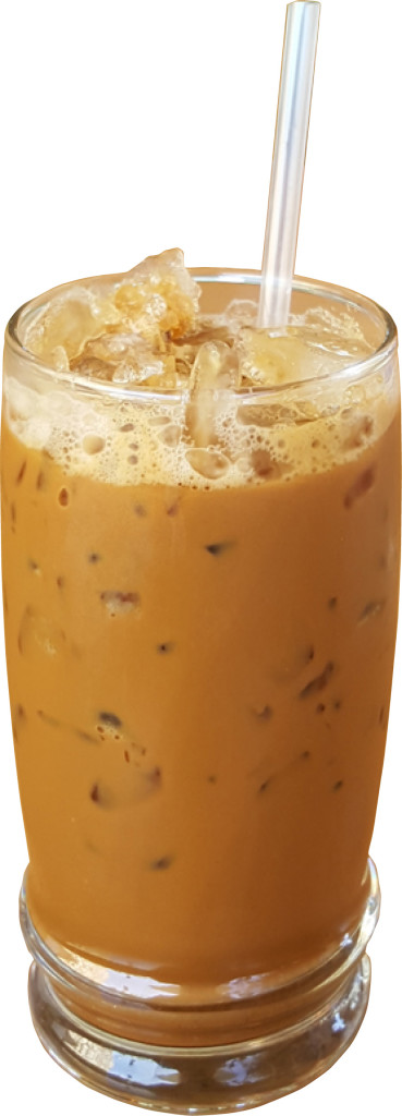 D-4 CÀ PHÊ SỮA (ĐÁ) -- Espresso with condensed milk (hot or iced)